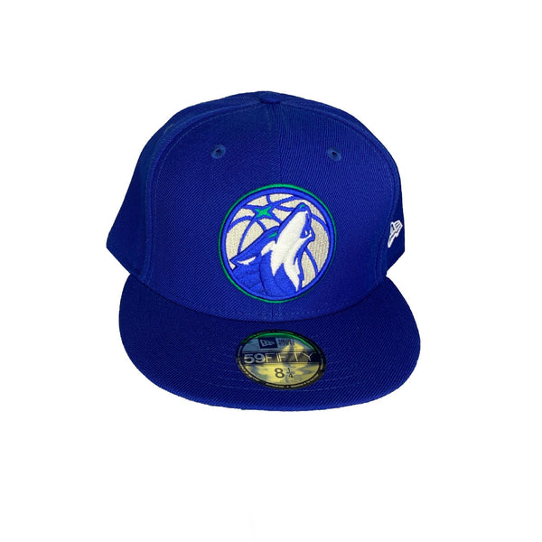 New Era Authentic 59Fifty Fitted: Minnesota Timber wolves (Blue)