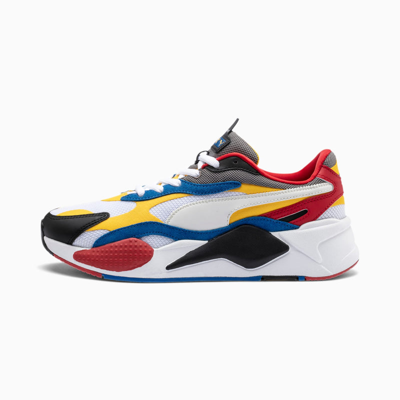 PUMA: RS-X3 PUZZLE (WHITE, SPECTRA YELLOW, BLACK)