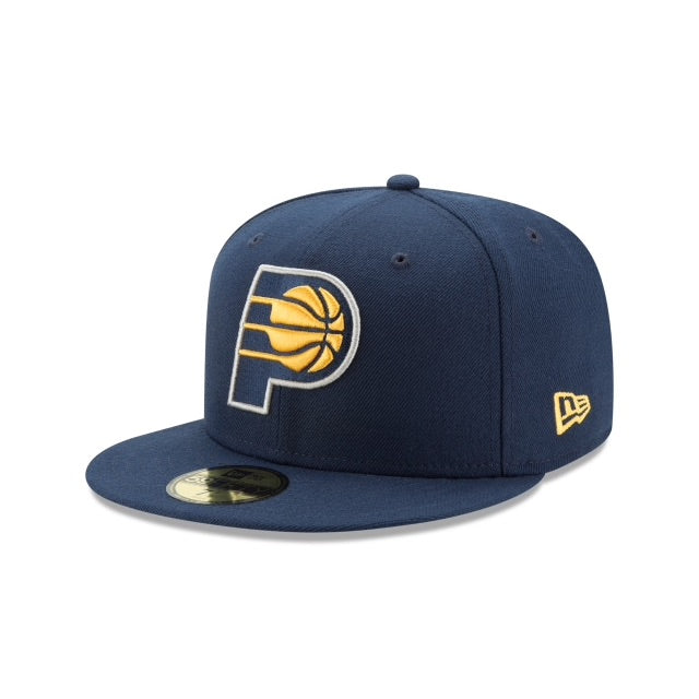 New Era Authentic 59Fifty Fitted: Indiana Pacers