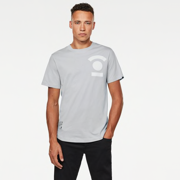 G-Star Raw: 3D GRAPHIC LOGO T-Shirt (Cool Grey)