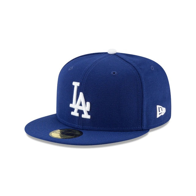 New Era Authentic 59Fifty SnapBack : Los Angeles Dodgers (Blue)