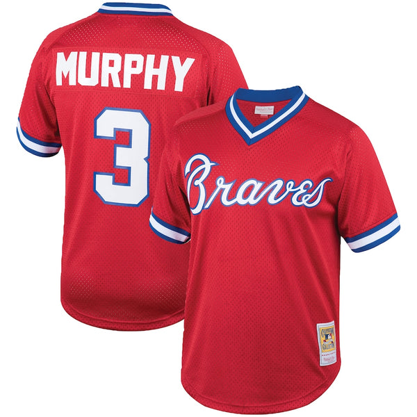 Mitchell & Ness: Authentic BP Jersey Atlanta Braves (Dale Murphy 1980)
