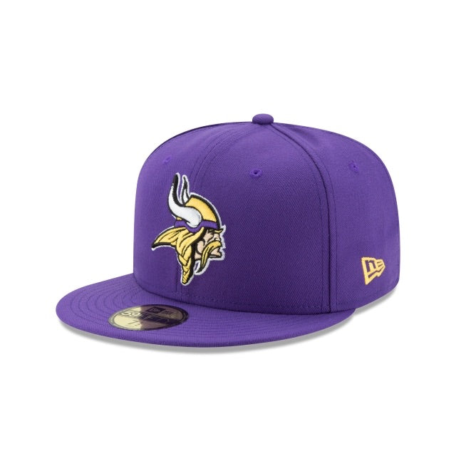 New Era Authentic 59Fifty Fitted: Minnesota Vikings (Purple)