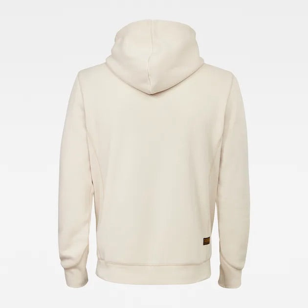 G-Star Raw: PREMIUM CORE HOODED SWEATER (Whitebait)