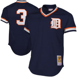Mitchell & Ness: Authentic BP Jersey Detroit Tigers (Alan Trammell 1984)