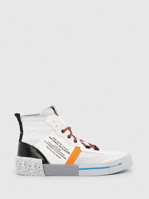 Diesel: D-DESE MID RC SNEAKERS (STAR WHITE)