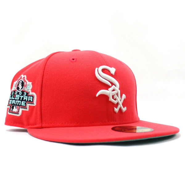 New Era Authentic 59Fifty SnapBack : 2003 Chicago White Sox All-Star Game (Red)