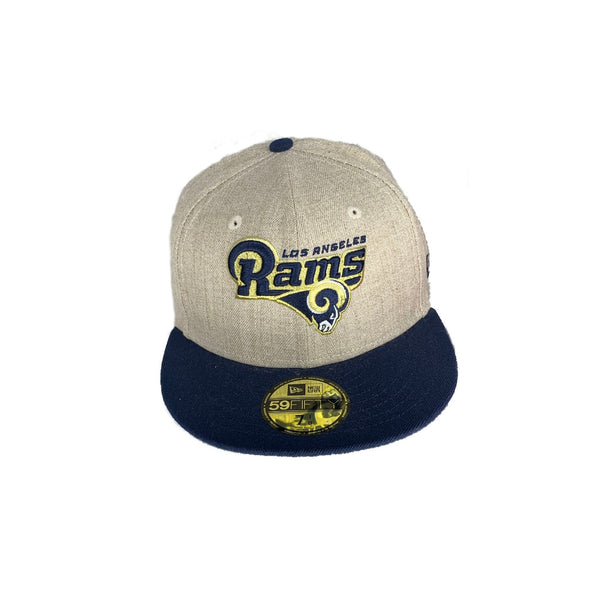 New Era Authentic 59Fifty Fitted: Los Angeles Rams (Twill/Navy)