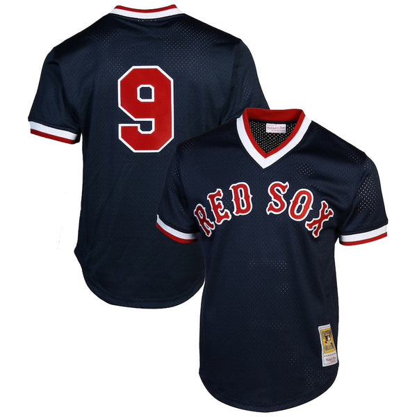 Mitchell & Ness: Authentic BP Jersey Boston Red Sox (Ted Williams 1990)