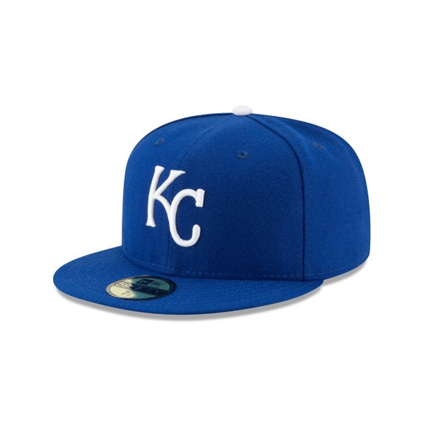 New Era Authentic 59Fifty Fitted: Kansas City Royals (Blue)