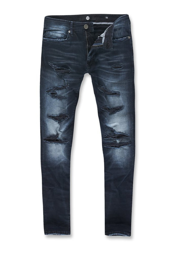 Jordan Craig: Sean Ripped Denim (Midnight Blue)