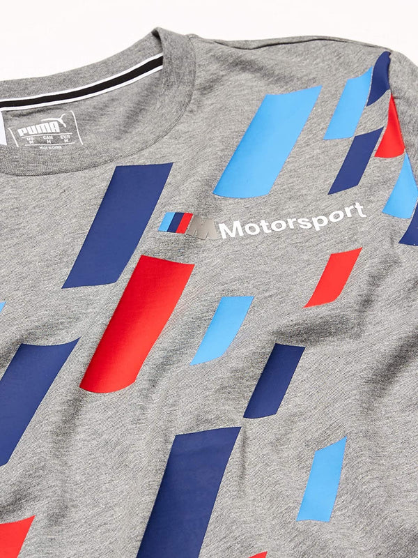 PUMA: BMW MMS Graphic Tee ( MED GRAY HEATHER )