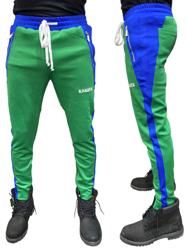 Karter Collection: Roosevelt Track Pants (Green)