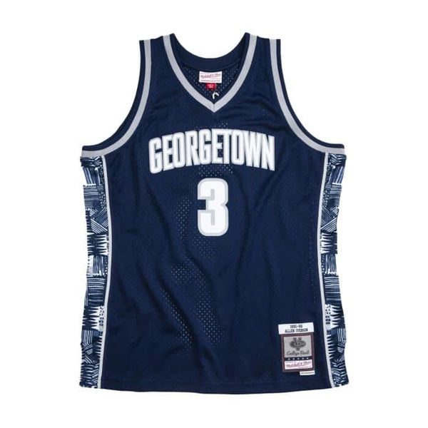 Mitchell & Ness NBA Swingman Collection Allen Iverson Jersey ('95 Georgetown - Home)