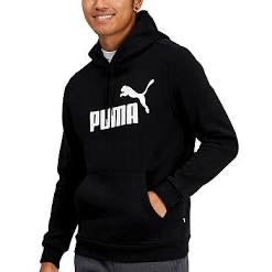 PUMA: ESS Fleece Hoody (Puma Black)