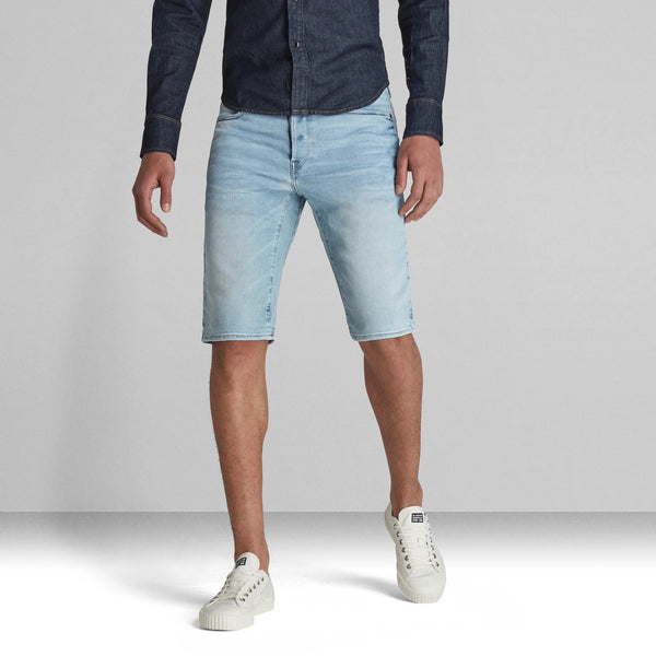 G-STAR RAW: D-STAQ SHORTS (Sun Faded Aqua Marine)