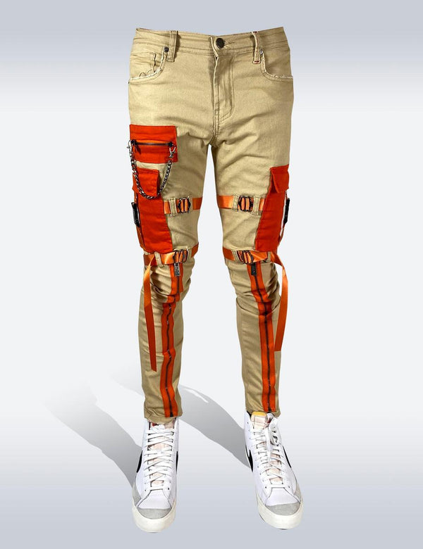 Preme: Strapped Up (Khaki/Orange)