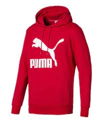 PUMA: Classics Logic Hoody FL (High risk red)