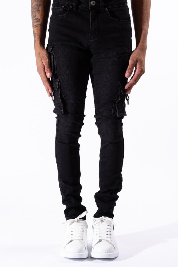 "Serenede: Serenede ""Panthera"" Cargo Jeans"