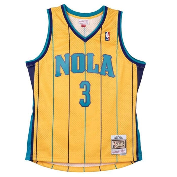 Mitchell & Ness NBA Swingman Collection Chris Paul ('10 Hornets - Alt Yellow)