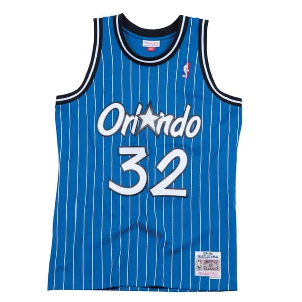 Mitchell & Ness: NBA Swingman Collection Shaquille O'Neal Jersey ('94 Magic - Away)