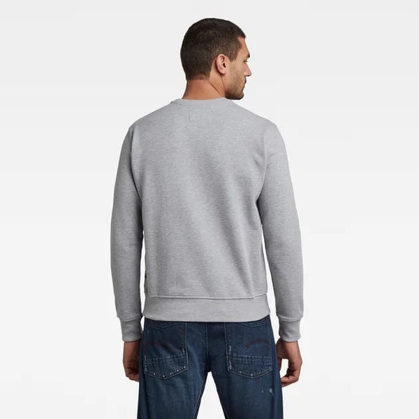 G-Star Raw: ORIGINALS SWEATER (Grey Heather)