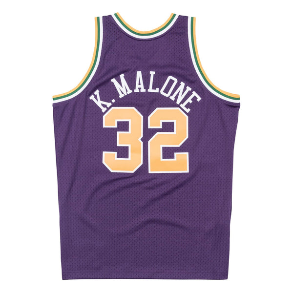 Mitchell & Ness NBA Swingman Collection Karl Malone Jersey ('91 Malone - Road)