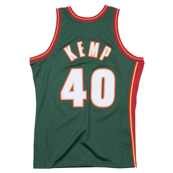 Mitchell & Ness NBA Swingman Collection Shawn Kemp Jersey ('95 SuperSonics- Road)