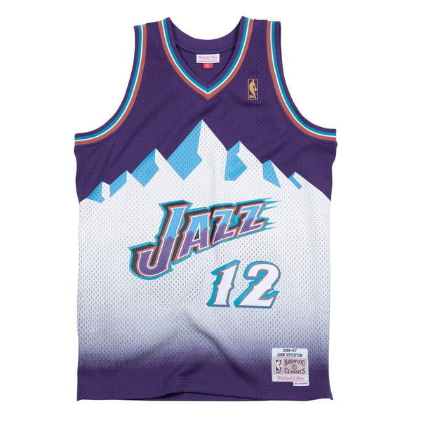 Mitchell & Ness NBA Swingman Collection John Stockton Jersey ('96 Jazz-Away)