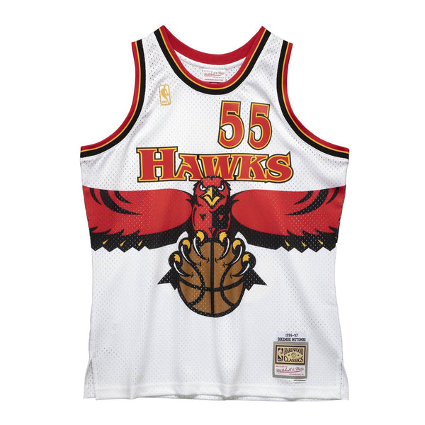 Mitchell & Ness NBA Swingman Collection Dikembe Mutombo Jersey ('96 Hawks - Home)