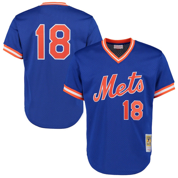 Mitchell & Ness: Authentic BP Jersey New York Mets (Darryl Strawberry 1986)