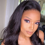 Hot Beauty Hair 13x6 Undetectable Swiss HD Frontal Lace Wig Body Wave