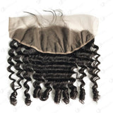 Hot Beauty Hair 13x4 Lace Frontal Hair Ocean Spiral Curl Closure