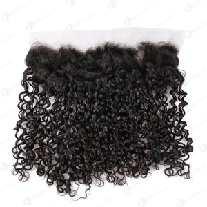 Hot Beauty Hair 13x4 Lace Frontal Hair Small Kinky Curl Closure