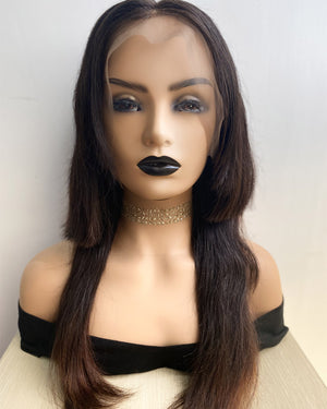 13x4 Frontal Lace Wig Straight 18inches