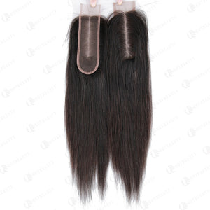 100% Virgin Hair 2*6 Kim K Lace Closure