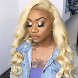 Hot Beauty Hair 613 Blonde 3 Bundles Virgin Human Hair Body Wave