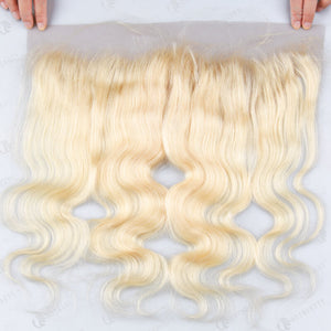 Hot Beauty Hair 613 Blonde 13x4 Lace Frontal Hair Body Wave Closure