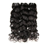 Hot Beauty Hair Peruvian 3 Bundles Water Wave 100% Virgin Human Hair Weave