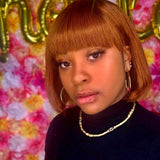 Hot Beauty Hair Gorgeous Bob Wig With Bangs 8inches
