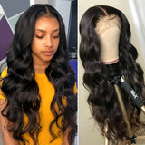Bouncy Glam Body Wave 6x6 Lace Closure Wig