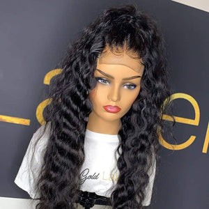 Hot Beauty Hair Closure Wig Virgin Human Hair Water Wave