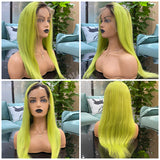 Hot Beauty Hair T1B/Green Ombre Color Full Lace Wig