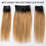 Hot Beauty Hair Quick Install U-Part Bob Wig Easy Manage & Convenient(Get Free Clip In Set)