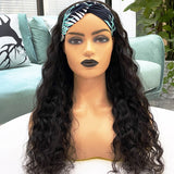 Hot Beauty Hair Headband Wig Water Wave(Get Free Headband Set)