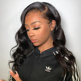 Hot Beauty Hair Invisible Lace 13x6 Glueless Frontal Lace Wig