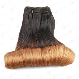 Real Super Double Drawn Funmi Hair Ombre Egg Curl
