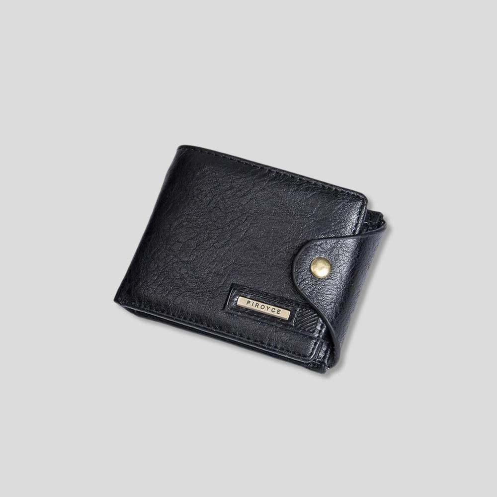 Piroyce Leather Clasp Wallet