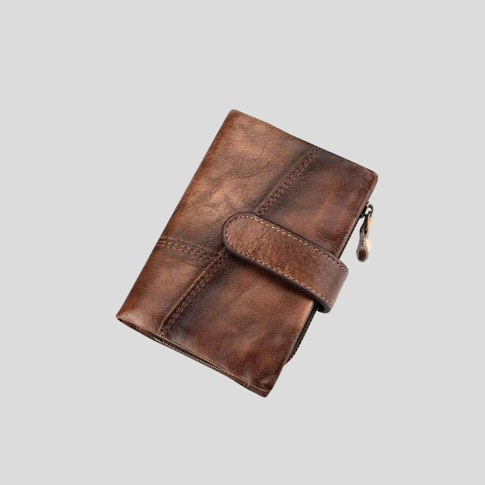 Retro Leather Wallet