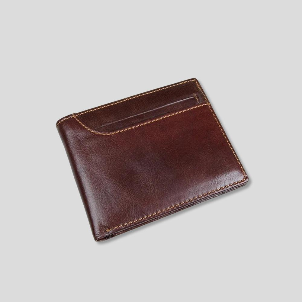 Rustic Cardholder Leather Wallet